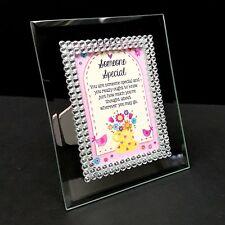 💕Diamante Wallet Card Holder Frame Pocket Keepsakes Sentimental Gift Present💕