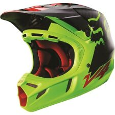 Fox V4 Libra Yellow Black Motocross MX Dirtbike Helmet SML - 50 off