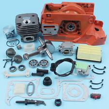 Crankcase Engine Housing Cylinder Piston Kit for HUSQVARNA 268 272 Chainsaw 52MM