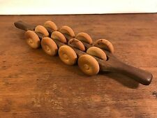 Two Handed Wooden Roller Full Body Massager (HD0)