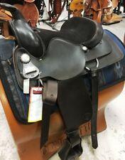 "Big Horn Roping Saddle Dark Brown Leather Quarter Horse Bars 15"" Model #12 ~ NEW"
