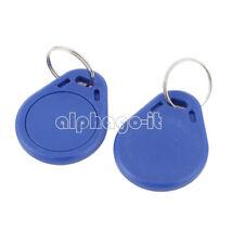 5/10/20/50/100x RFID Sensor Proximity IC Key Tag Keyfob Keychain Card 13.56MHz