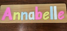 PERSONALISED NAME PUZZLES 9 PIECE