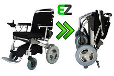 EZ Lite Cruiser Deluxe DX12 Light Folding Electric Wheelchair - 15 Ah Battery