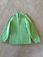 Boys 6 Target gorgeous green knit Jumper - New with no tags - 100% Cotton