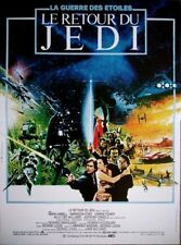 LE RETOUR DU JEDI Return of the Jedi Affiche Cinéma 53x40 Movie Poster STAR WARS