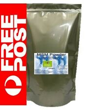 Pure MSM Powder 100gm Highest Quality Human Grade Nutritionist Vegan Gluten Free