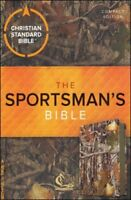 CSB Sportsman's Compact Large-Print Bible---soft leather-look, mothwing