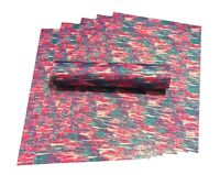 10 SHEETS A4 GLITTER PAPER PINK, RED, GREEN, PURPLE & WHITE MIX NON SHED 100GSM