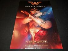 WONDER WOMAN  affiche cinema preventive D.C comics bd super-heros