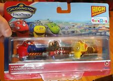 CHUGGINGTON STACKTRACK TRAINS Safari Park Patrol Wilson, Puffer Pete, Mtambo