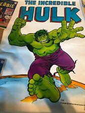 Vintage 1974 Trimpe/Romita Marvel Comics Hulk Poster