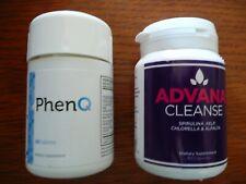 PhenQ + Advana Cleanse Abnehmen + Detox NEU vom Hersteller Versiegelt