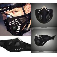 Anti polvo mitad cara máscara filtro boca mufla motos bicicleta Bike esquí ENE