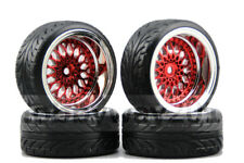 1/10 Rc Drift Car Wheels & Tires Set For Yokomo Mst Sakura Tamiya Hpi 9mm Offset
