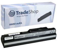 AKKU für Medion Akoya E 1210 battery accu_Black_6600mAh