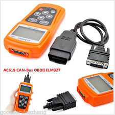 OBD 2 CAN BUS Car Engine Fault Code Scanner Reader Diagnostic Reset Tool