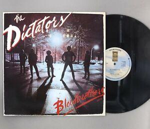 """The Dictators - Bloodbrothers - 12"""" Vinyl LP - A1/B1 Original UK Press - K53083"""