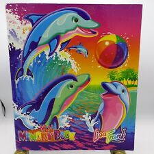 Vintage 1990's Lisa Frank 'Dancing Dolphins' Memory Book 3 Ring Binder