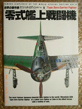 IJN CARRIER FIGHTER A6M ZERO, PICTORIAL MONOGRAPH, FAOW SPECIAL ISSUE, BUNRINDO
