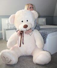 Teddybär 190 cm BIG XXL Riesen Kuscheltier Stofftier Plüschtier Geschenk beige