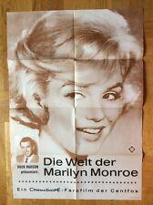 Welt der Marilyn Monroe (Kinoplakat '63) - Marilyn Monroe / Rock Hudson