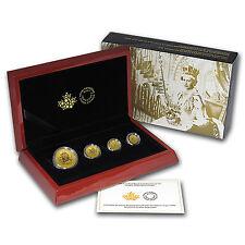 2016 Canada 4-Coin Gold Fractional Maple Leaf Set (1.4 oz) - SKU #93208
