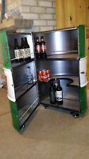 Oil Drum Bar, Man cave, Castrol oil, Drinks cabinet, Oil drum furniture, Pub