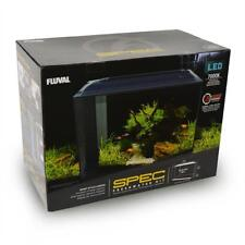 "SPEC V 16 GALLON FRESHWATER AQUARIUM KIT (21.8"" X 17.5"" X 11.5"") BLACK - FLUVAL"