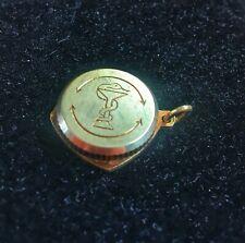 Gold Anhänger SOS Notfall Kapsel ca.7g 585er Gold