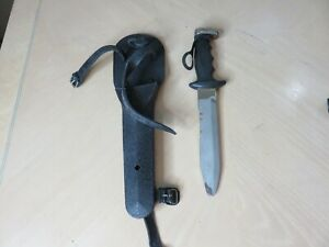 Vintage Tabata Japanese Scuba Diving  Knife  12 inch with sheath