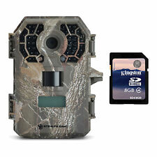 Stealth Cam 10MP Video Infrared No Glow Hunting Game Trail Camera + 8GB SD Card