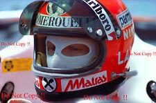 Niki Lauda Ferrari F1 Grand Prix 1977 fotografía de retrato de EE. UU. 2