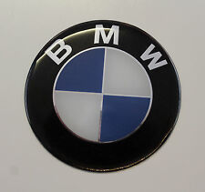 BMW Sticker/Decal - 82mm DIAMETER HIGH GLOSS DOMED GEL FINISH