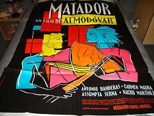 AFFICHE   ALMODOVAR / BANDERAS / MAURA / MATADOR