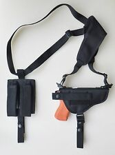 Gun Shoulder Holster for BERSA THUNDER 9,40,45 ULTRA COMPACT PRO DBL MAG POUCH