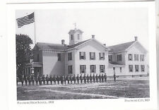 "*Postcard-""The Pocomoke High School"", 1918-   CLASSIC  *Pocomoke City, MD (#146)"