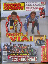 Motosprint 15 1999 Valentino Rossi e Loris Capirossi - Test 14 sportive a confro