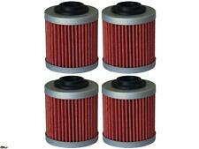 4-Pack Oil Filter Can-Am ATV DS450 2008-2009,DS450 X/MX/MC EFI 09-12,DS450X 2008