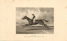 More details for 1840s print of a race horse called
