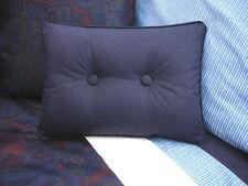 NEW Custom Ralph Lauren Driver Jacquard Accent Pillow 2 Button