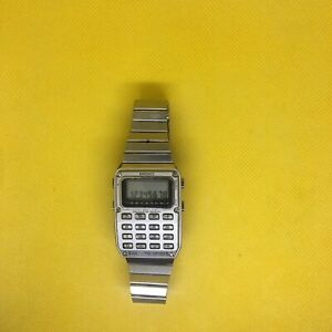 1970s Seiko mens digital calculator watch SUPER RARE  C515-5000