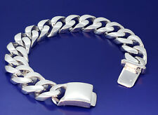 16 mm Solid Heavy Sterling Silver Miami Cuban Link Bracelet 9 Inches 100 Grams