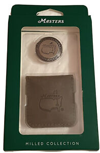 2021 Masters MILLED Ball Marker COIN!  From AUGUSTA NATIONAL! Flag
