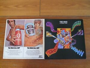 VINYL 2LP THE WHO A QUICK ONE + SELL OUT  UK TRACK REC IN NICE CONDITION !!! MOD