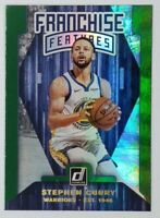 2019-20 Donruss Franchise Features Green Flood Holo Stephen Curry #12, Insert