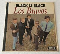 LOS BRAVOS ~ BLACK IS BLACK ~ 1966 UK 12-TRACK MONO VINYL LP RECORD