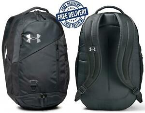 Under Armour Storm Unisex Grey Backpack Travel School Bag Rucksack