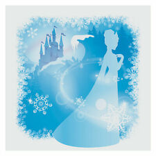 Winter Princess Backdrop - Party Decor - 1 Piece