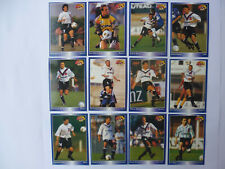 Panini Official Football Cards 1995, SCO ANGERS - Set complet des 12 Cartes.